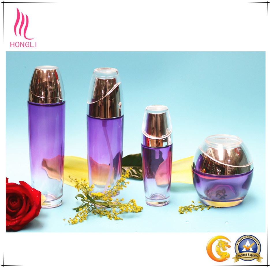 Aluminum Cover Bottle Cosmetic