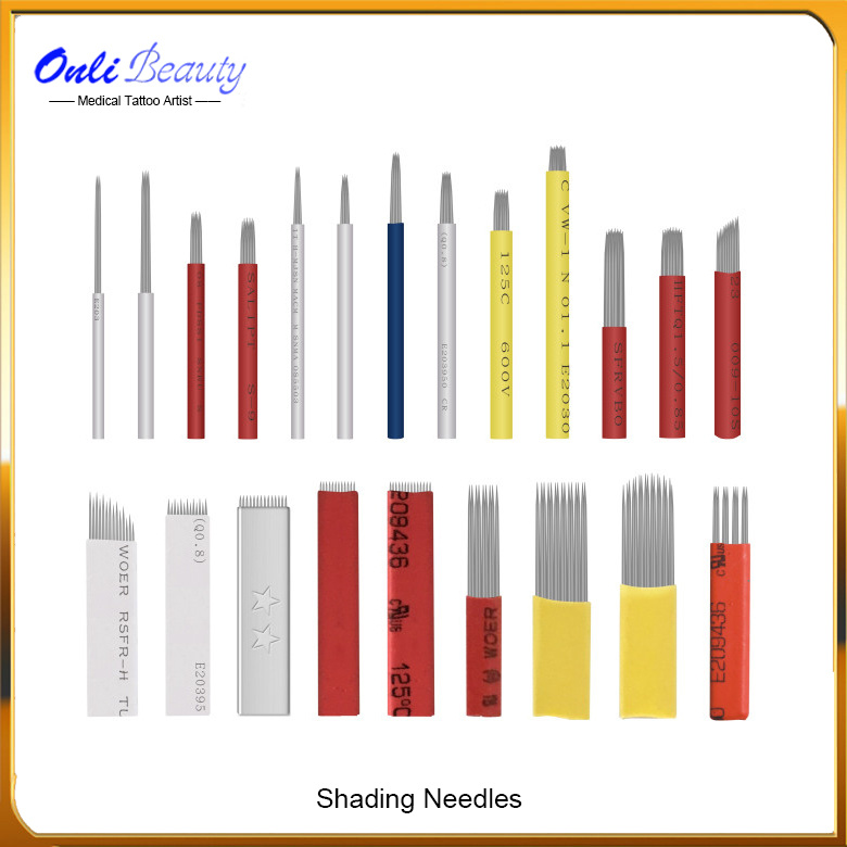 Sterilized Safety Microblading Manual Shading Needles Supply