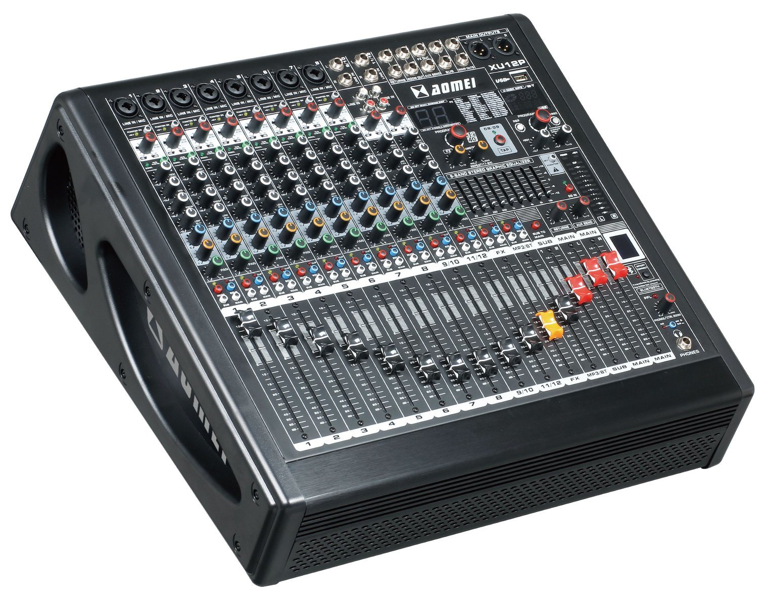 Special New Design Powered Mixer Xu8p Series Professional Amplifier