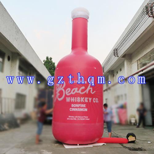 Inflatable Drinking Bottle Model for Advertising/Advertisement Simulation Inflatable Model