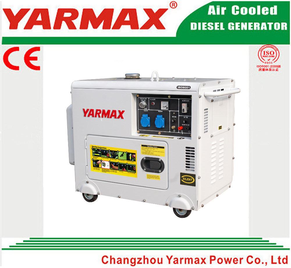 Yarmax 4000 5000W 188f Diesel Generator 4kw 5kw Silent Diesel Generator Genset