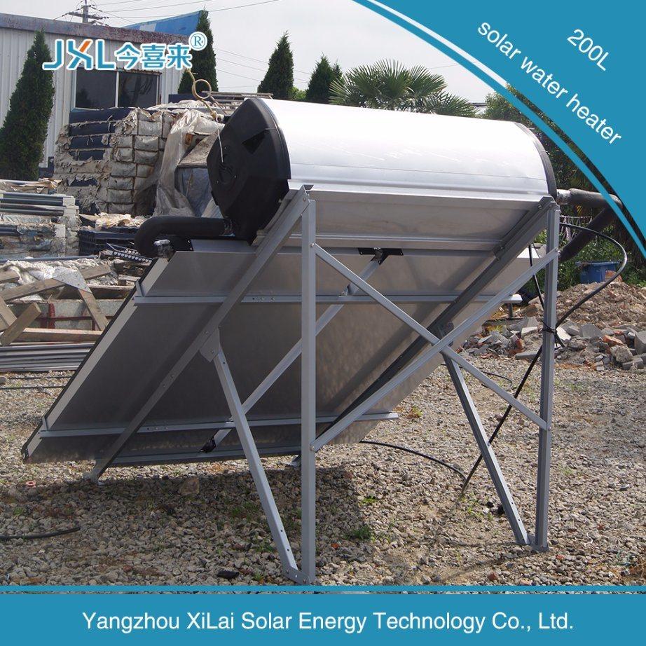 200L Plane Efficient Flat Panel Solar Water Heater