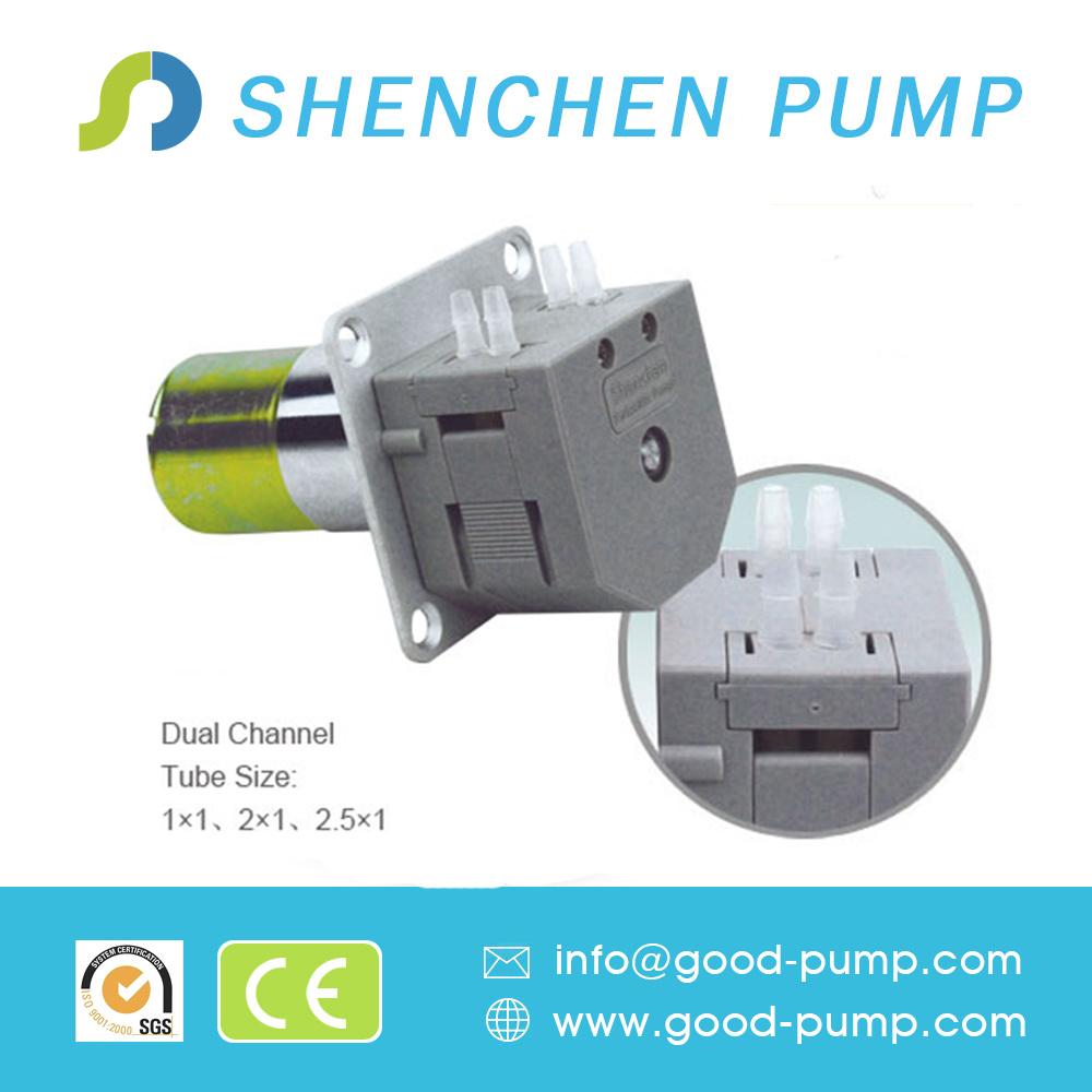 OEM Customized 0.024-190ml/Min Minipump Peristaltic Pump