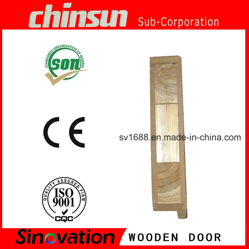 Cheap Bedroom Wooden Door with PVC