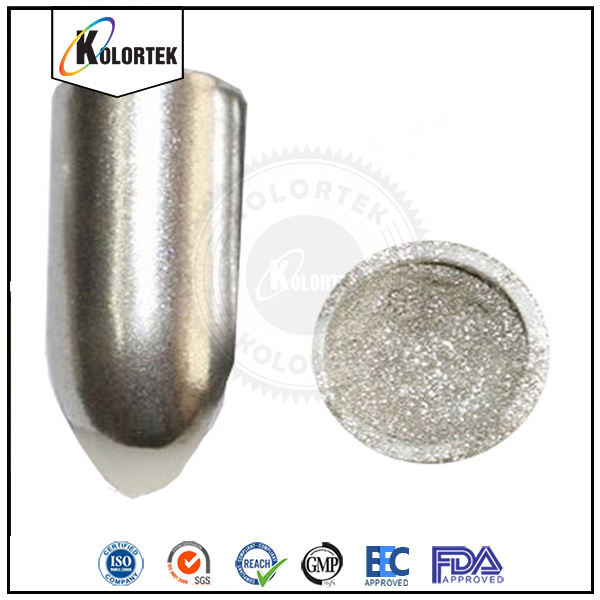 Mirror Nail Polish Pigment, Chrome Mirror Silver Nail Polish Pigment