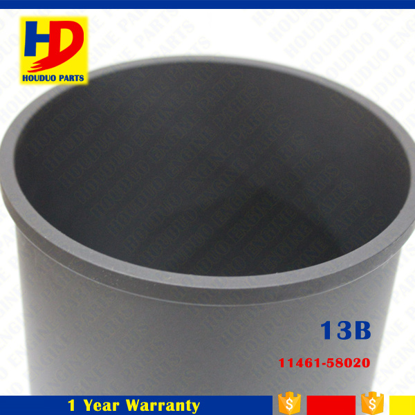 Auto Factory Diesel Engine 13b Cylinder Liner Parts Part No (11461-58020)