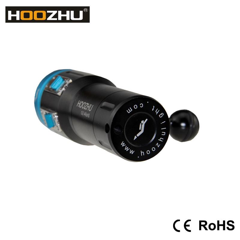 Hoozhu V13 Dive Light Underwater 120m LED Light for Diving Video Light
