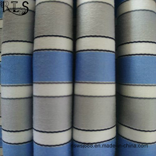 100% Cotton Poplin Yarn Dyed Fabric for Shirts Dress Rlsc40-16