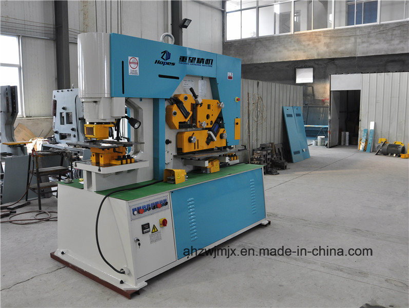 Q35y-16 Hydraulic Combined Punching and Shearing Machine