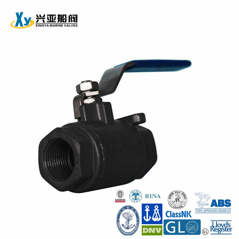 Alloy 2PC Internal Thread Ball Valve