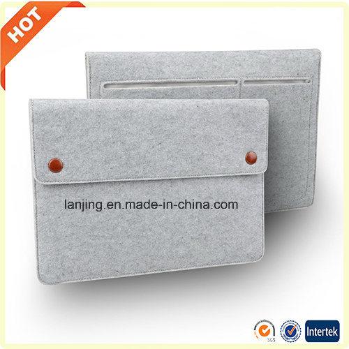 Wholesale Free Sample Wool Felt HP 13/ 15/ 17 Laptop Bag in UK Singapore