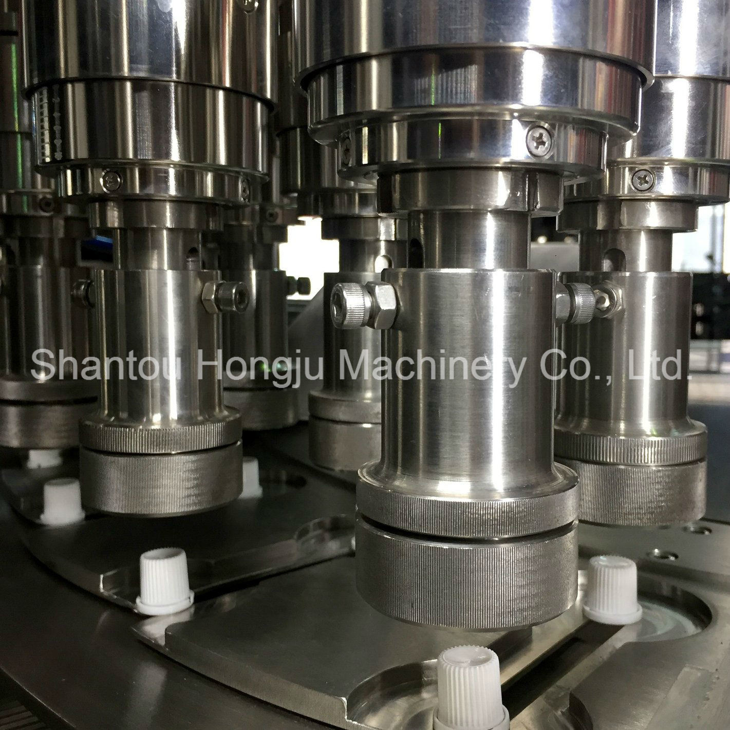 Small Volume Jelly Filling Machine for Spout Side Gusset Pouch