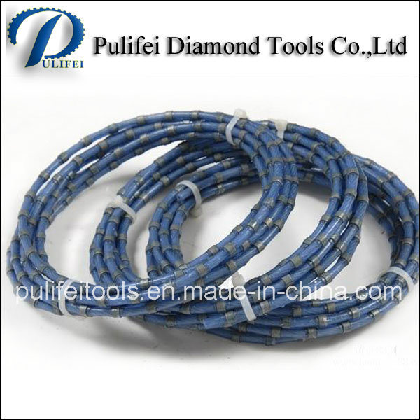 Diamond Hand Wire Saw for Stone Quarrying Granite Block Cutting