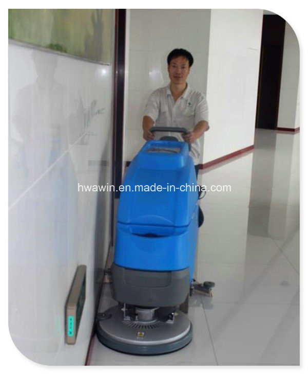 Hand Push-Type Floor Scrubber Cleaning Machine