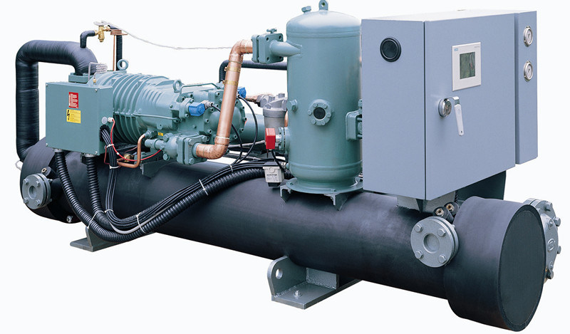 Water Cooled Screw Brine Chiller for Low Environment Temperature