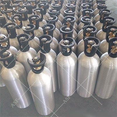 Factory 0.5L to 30L Aluminum Fill CO2 Gas Tank