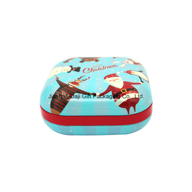Big Square Metal Cookie Tin Gift Box (S001-V6)
