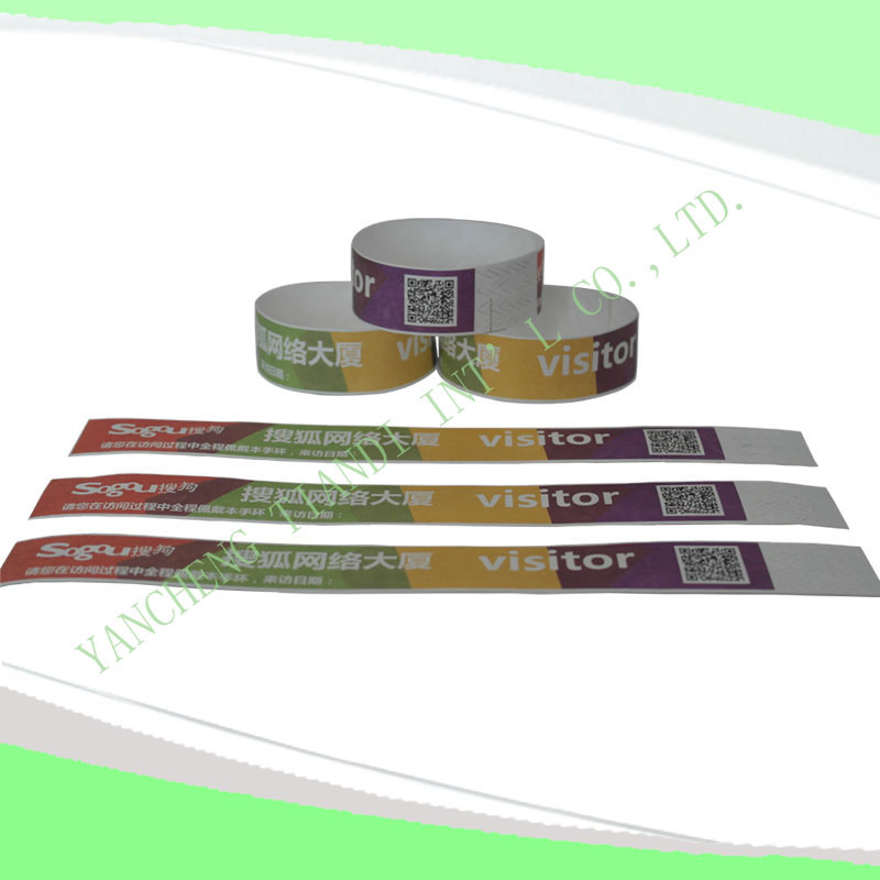 Entertainment One-Time off Tyvek Wristbands (E3000-4-1)
