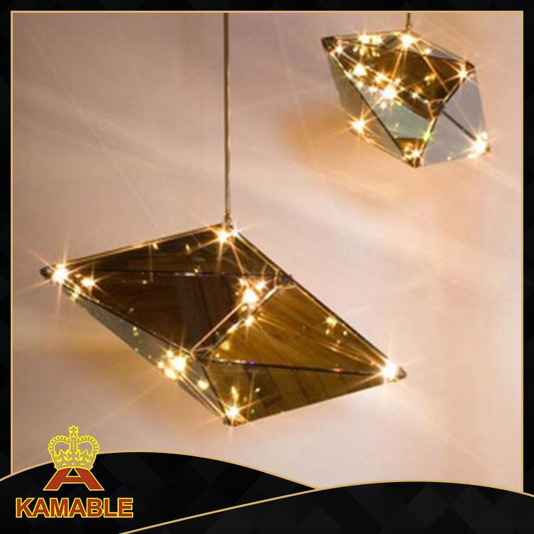 Hotel Interior Glass Decorative LED Pendant Hanging Lamps (KA8122-M)