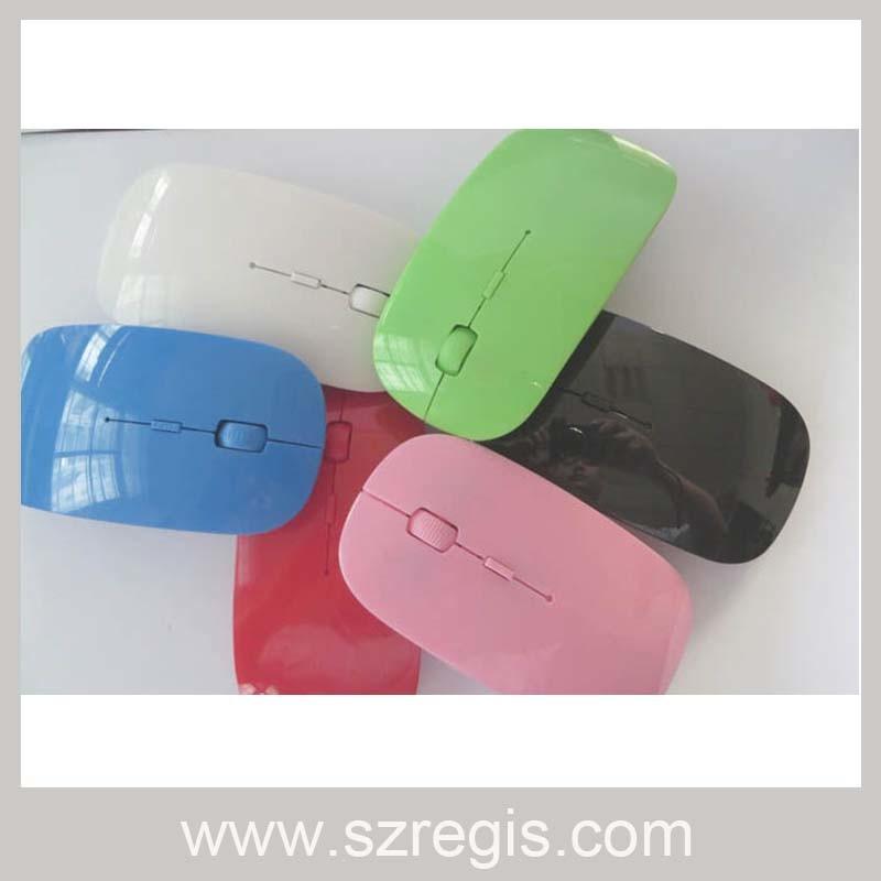 Little Apple 2.4G Mini Nano Laser Optical Computer Wireless Mouse