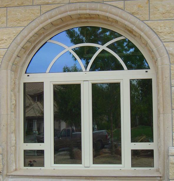 Fire Resistant Insulated Double Glass Aluminium Windows