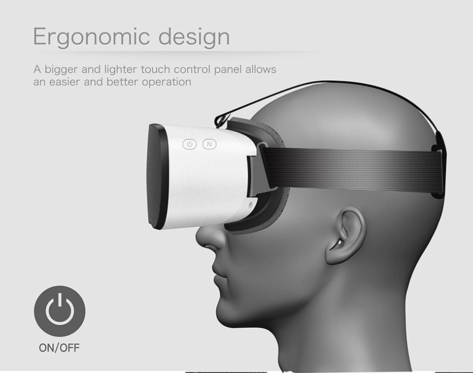 All-in-One Virtual Reality Glasses