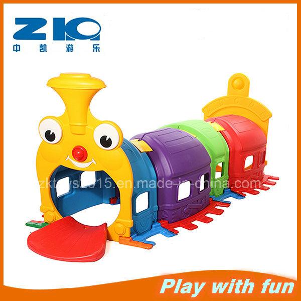 New Caterpillar Type Tunnel Kids Plastic Tube Slide Indoor Playground