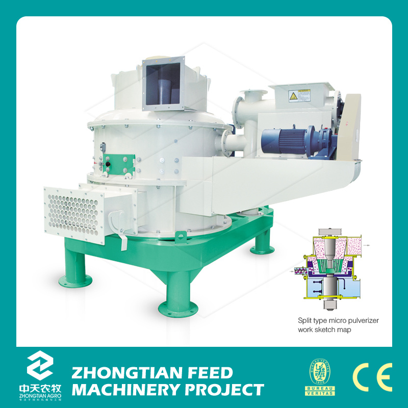 Pulverizer Corn Hammer Mill Machine, Feed Hammer Mill Shredder Swfl Series