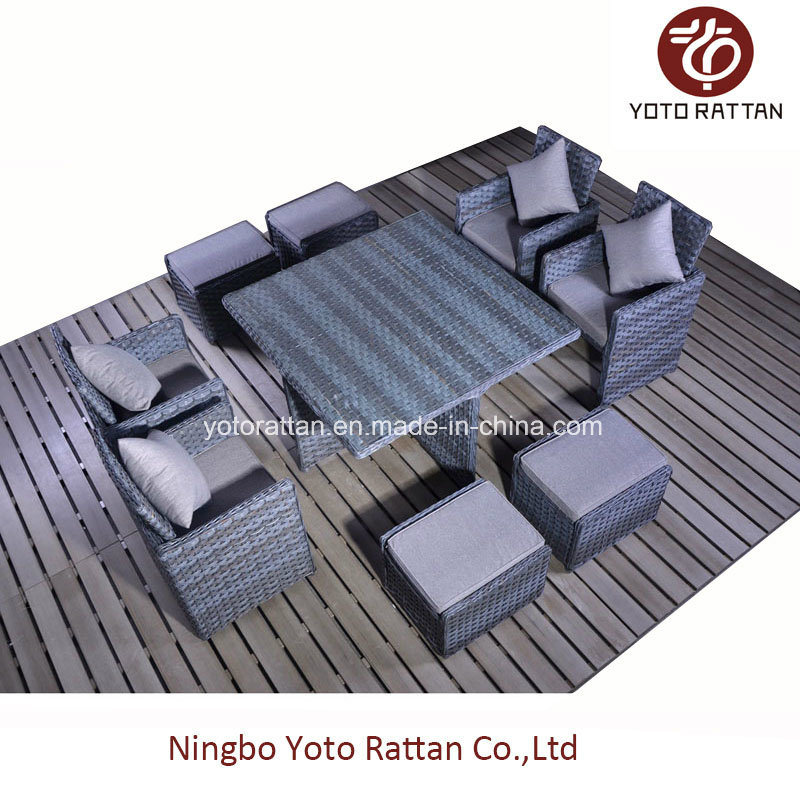 Indoor & Outdoor Rattan Furniture for Garden with 4 Seater / SGS (5006)