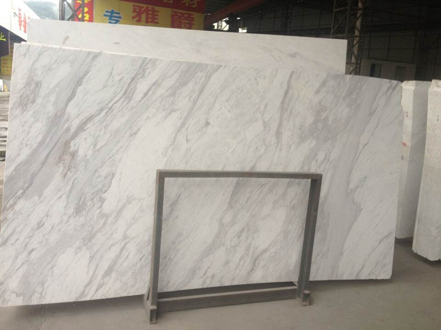 Volakas White Marble Slab for Tiles and Countertops