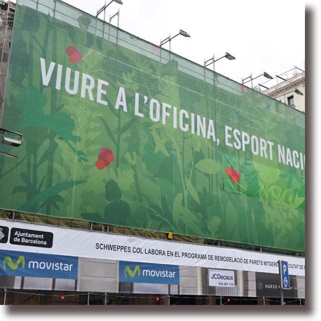 Custom Outdoor Advertising Banner Equipment