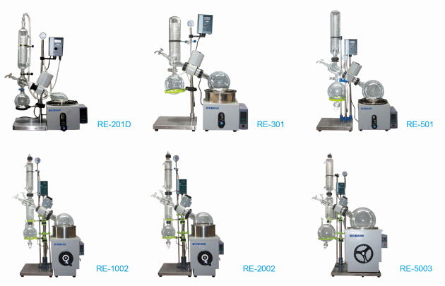 Biobase Best Price Electronic LED Display 20L Rotary Evaporator