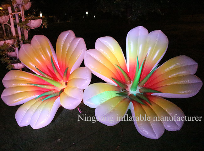 Custom Make Decoration Inflatable Lily Flower