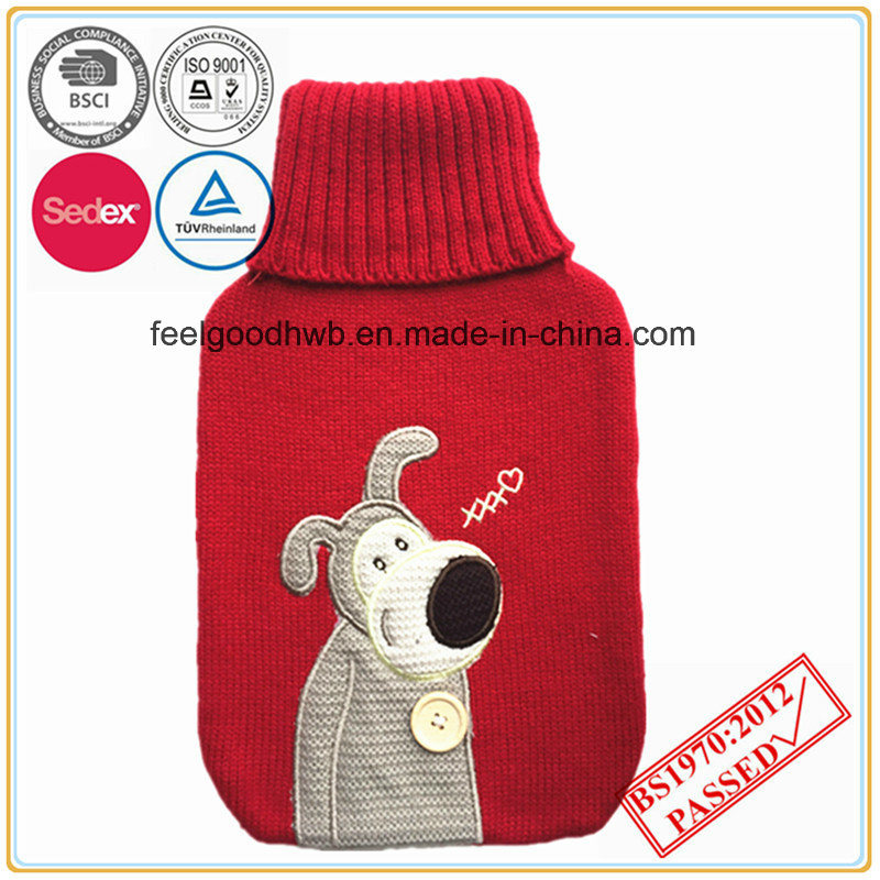 Lovely Owl Knitted Hot Water Bottle