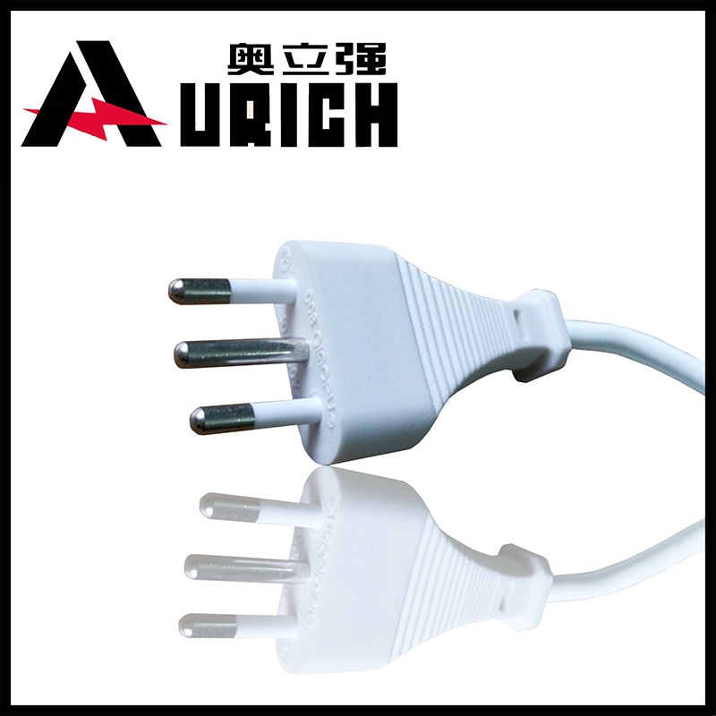 Italy Imq Power Supply Cord Oemitaly Power Cord 3 Pin Male Female Plug