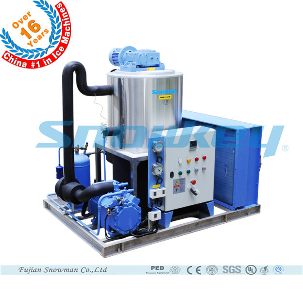 2016 Newest Design Liquid Ice Plant Slurry Ice Maker for Fishery on Board on Ship on Land