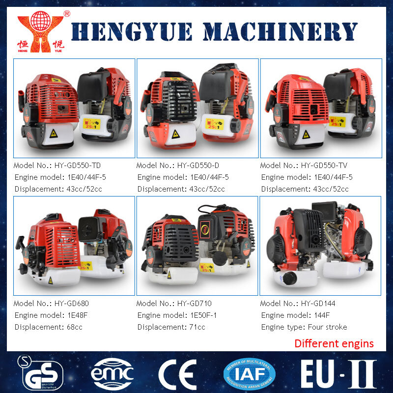 52cc Gasoline Earth Auger with CE Certificate
