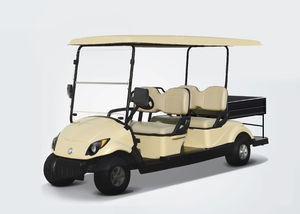 48V 3kw 4 Seats Electric Utility Golf Cart for with Cargo Tank