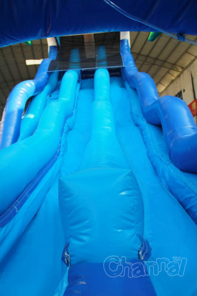 Tropical Wave Inflatable Water Slide Chsl671