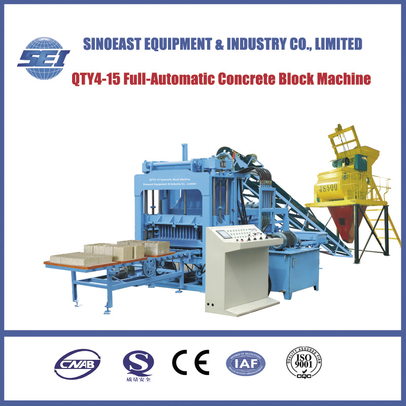 Full-Automatic Hollow Brick Making Machine (QTY4-15)