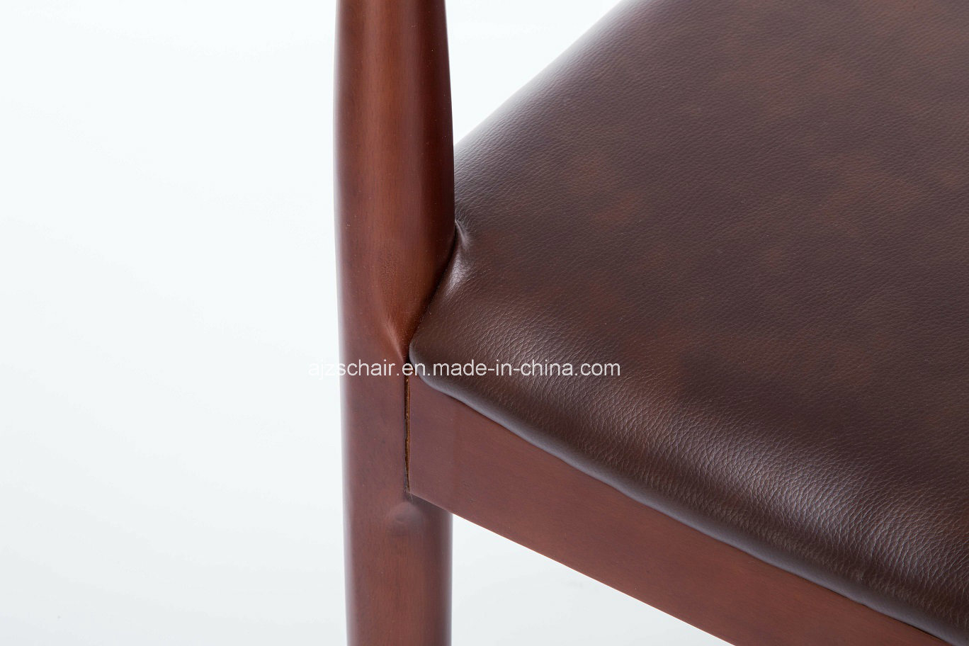 Modern Solid Wood Restaurant Ox Horn Chair/Wood Restaurant Chair Ox Chair Zs-T-N01