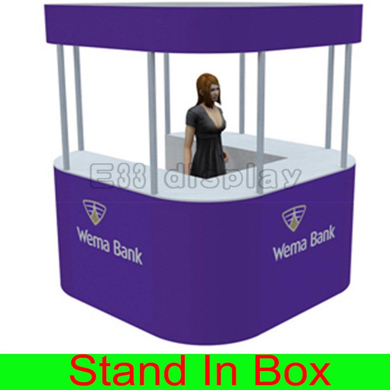 Custom Design Portable Modular Exhibition Trade Show Retail Kiosks