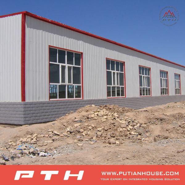 2015 New Arrival Prefab Steel Structure Garage
