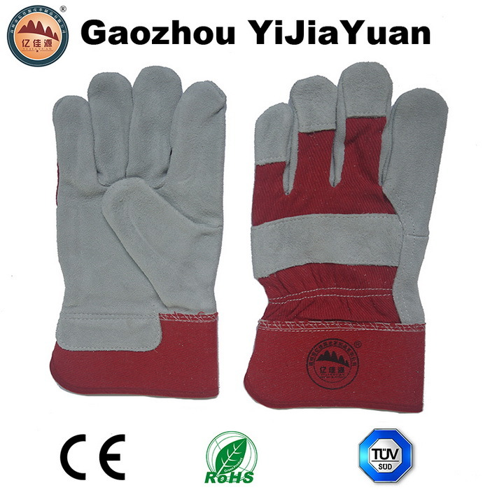 Cowhide Protective Work Gloves with Ce En388