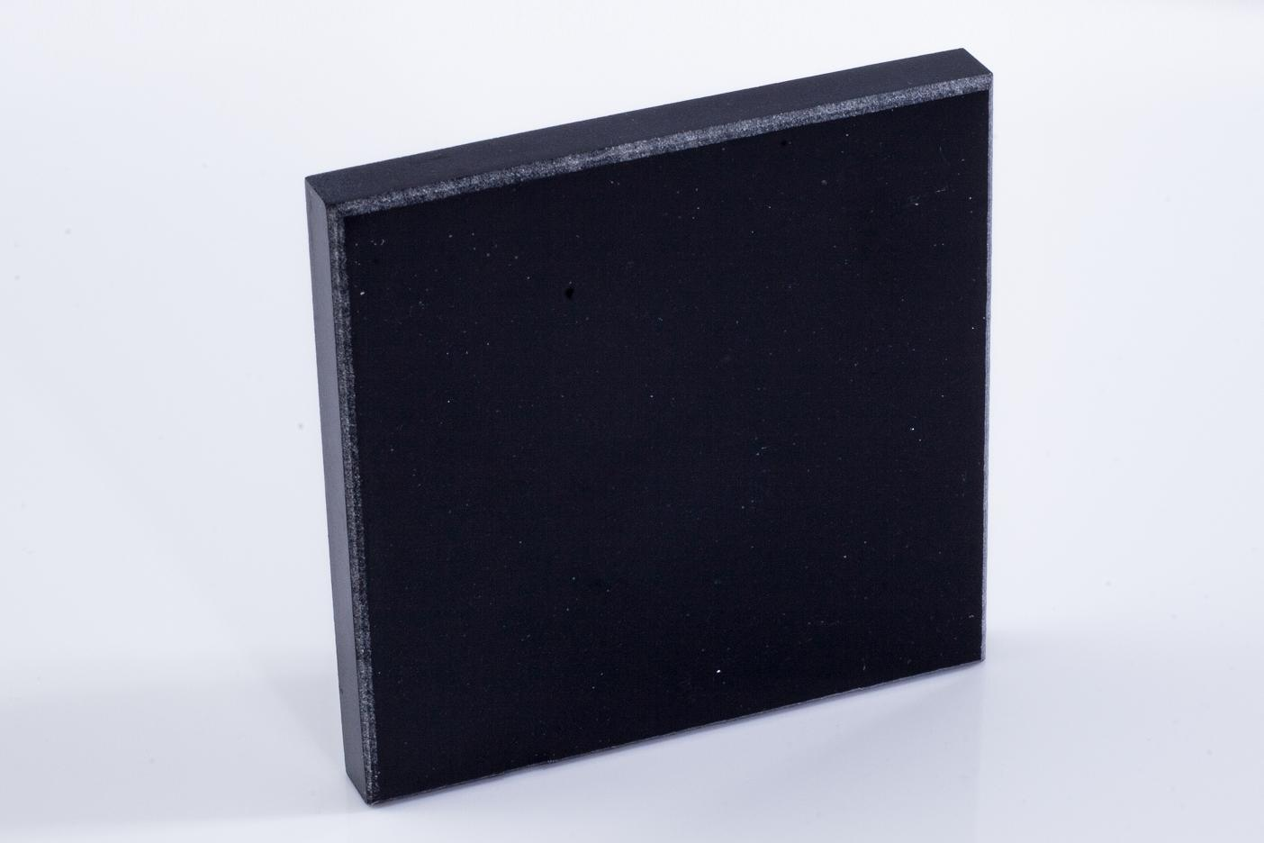 Building Materials Black Modified Acrylic Artificial Stone Bm8891