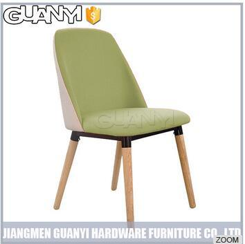 Mix Color Shell Shape High Back Modern Dining Room Furniture