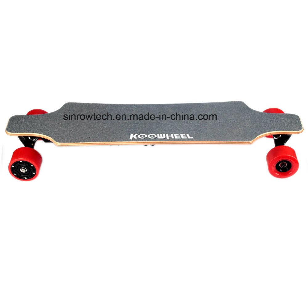 Dual Hub Motor 4 Wheels Electric Moterized Longboard Skateboard with Remote Control