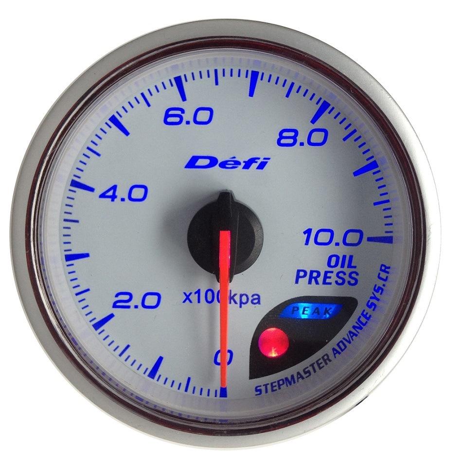 """2 3/8"""" (60mm) Auto Gauge for 11 LED Color Gauge (6266G11)"""