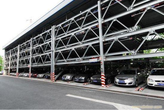 PLC Control Auto Mechanical Garage Vertical Puzzle Automatic Smart Car Parking System