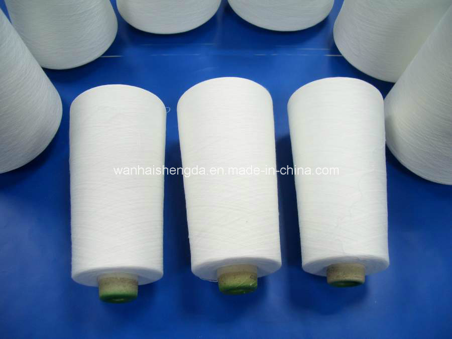 China Manufacturer High Tenacity 100% Spun Polyester Yarn
